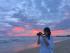 Ngắm hoàng hôn đỏ hồng ở Hồ Tràm