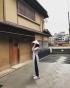 Nón lá in Kyoto