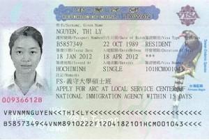 Hướng dẫn chi tiết xin visa du lịch Đài loan?